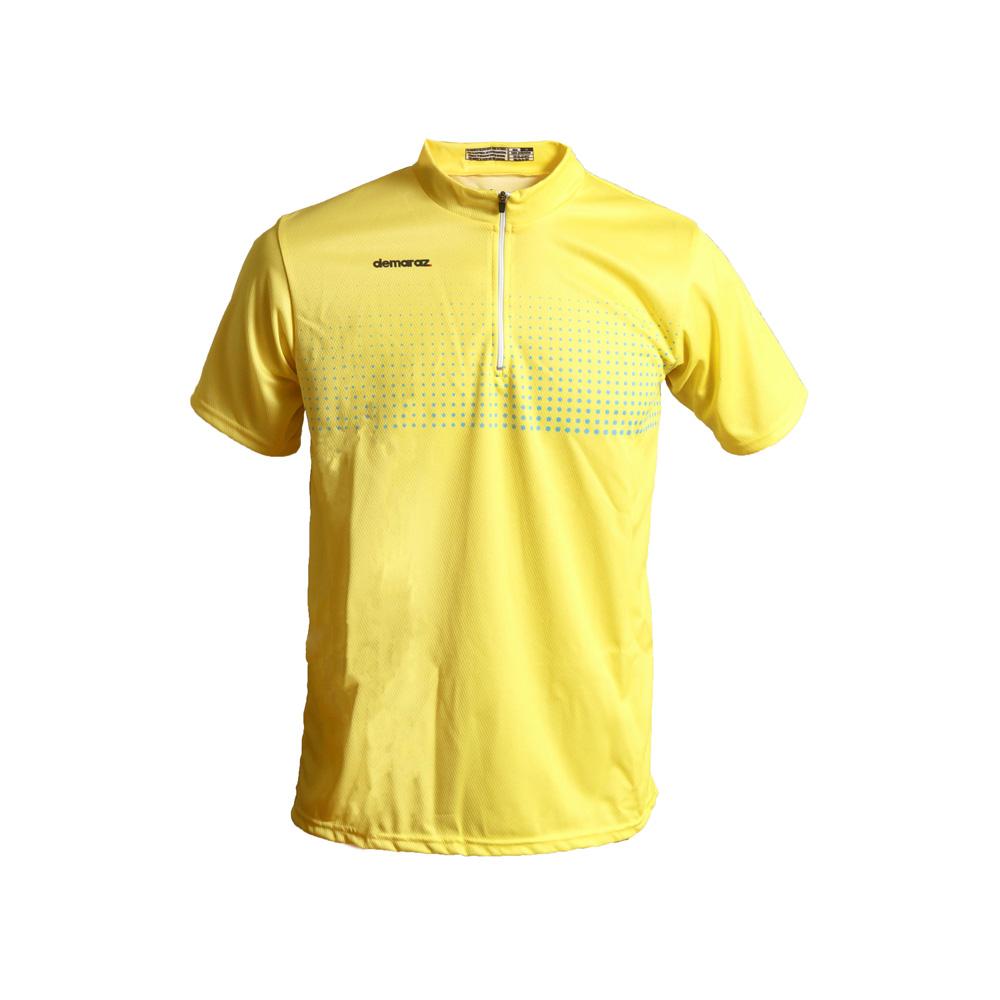 Μπλούζα για τρέξιμο | Demaraz | Κίτρινο fluo | Φερμουάρ